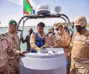 انباء عن غرق سفينة اجنبية بالشواطئ الموريتانية